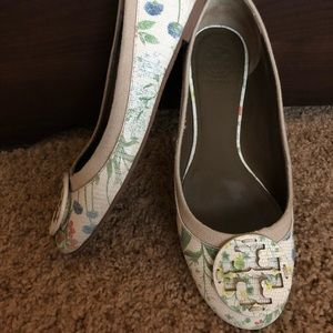 Tory Burch Reva Flats in Botanical Floral
